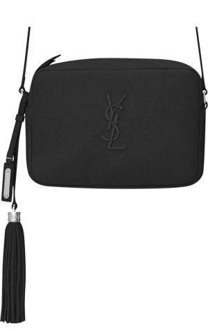Yves Saint Laurent Umhängetasche Small Lou, Crossbody Tasche, schwarz, unbenützt