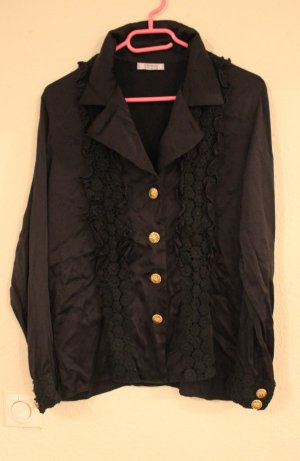 YVES SAINT LAURENT Vintage Bluse Barock chic Hemd Shirt YSL
