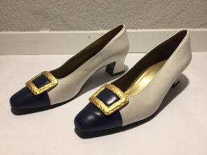 Yves Saint Laurent Pumps veelkleurig Leer