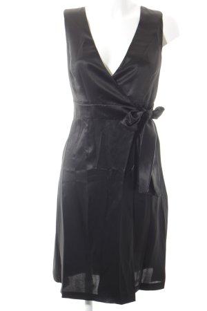 Yves Saint Laurent Wraparound black party style