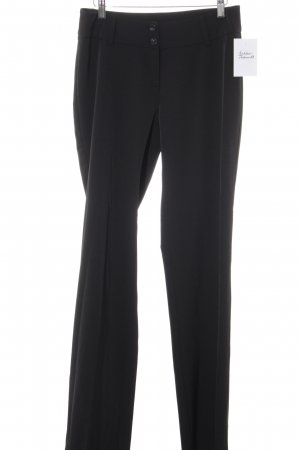 Zabaione Suit Trouser black business style
