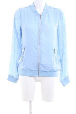 Zabaione Blusenjacke blau Casual-Look