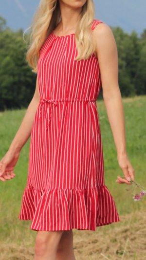 Zabaione Kleid gestreift s 36 rot weiß