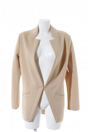 Zabaione Long-Blazer beige Business-Look