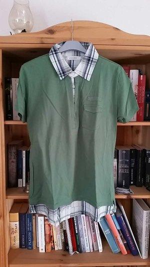 Zabaione Shirt mit Bluseneinsatz