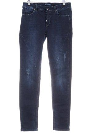Zabaione Skinny Jeans dunkelblau Jeans-Optik