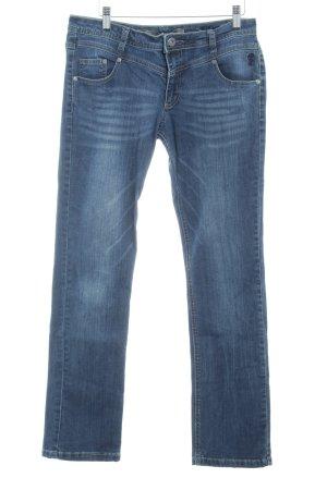 Zabaione Slim Jeans dunkelblau-graublau Casual-Look