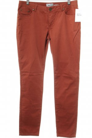Zabaione Slim Jeans rostrot Casual-Look