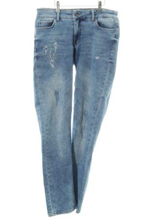 Zabaione Straight-Leg Jeans blau Casual-Look