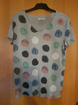 Zabaione Camisa tejida gris claro