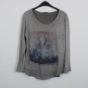 Zabaione Sweatshirt Gr. XS/S brau grau meliert (18/11/236)