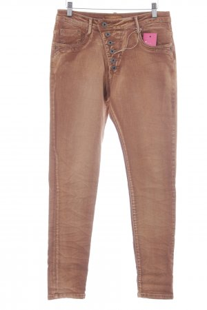Zac & Zoe Baggy Pants cognac Casual-Look