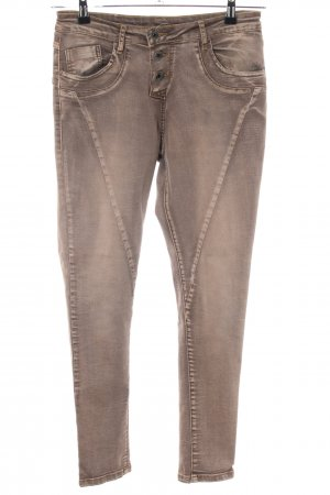 Zac & Zoe Stretch Trousers brown casual look