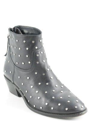 Zadig & Voltaire Desert Boots schwarz Punk-Look