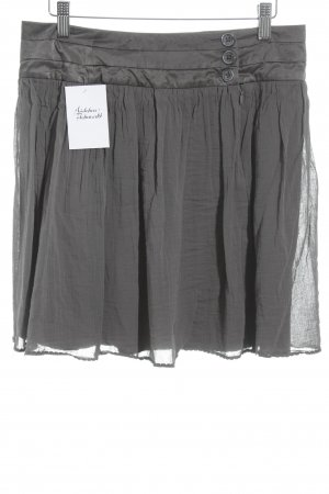 Zadig & Voltaire Plaid Skirt grey brown romantic style