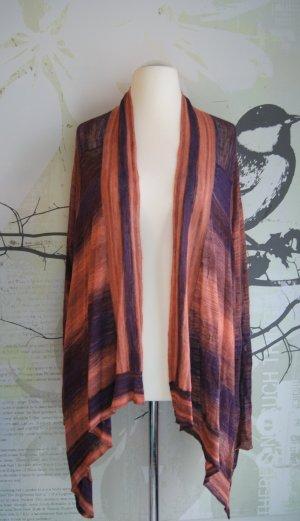 Zadig & Voltaire Jacke Ana VL, Feinstrick-Cardigan, orange/lila, One Size
