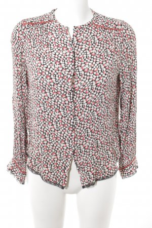 Zadig & Voltaire Langarm-Bluse abstraktes Muster Casual-Look