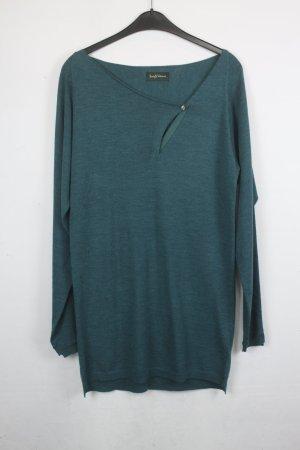 Zadig & Voltaire Pullover Longpullover Gr. S waldgrün (18/5/279/E)