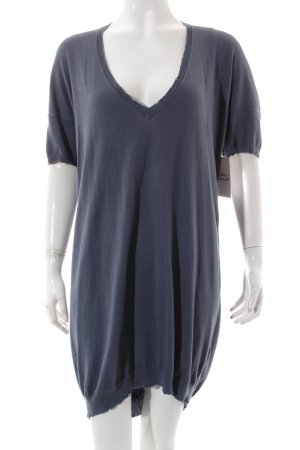 Zadig & Voltaire Shirtkleid graublau Casual-Look