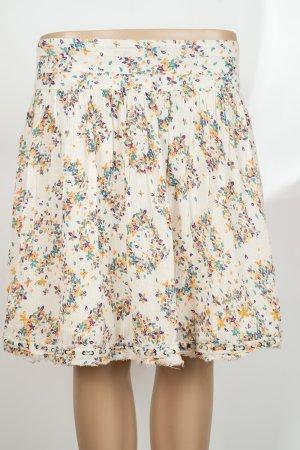 Zadig & Voltaire Skater Skirt natural white-cream cotton