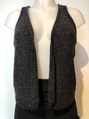 Zadig & Voltaire Long Knitted Vest anthracite