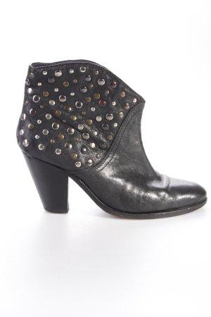 Zadig & Voltaire Stiefeletten schwarz mit Nieten