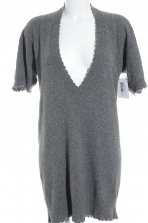 Zadig & Voltaire Strickkleid grau Casual-Look