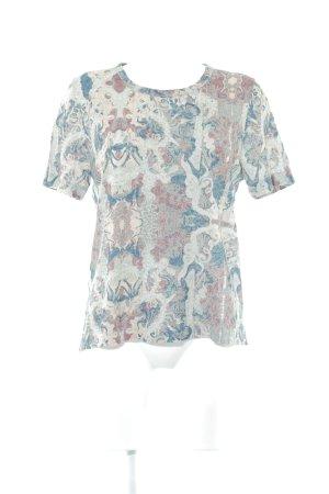 Zadig & Voltaire Strickshirt abstraktes Muster schlichter Stil