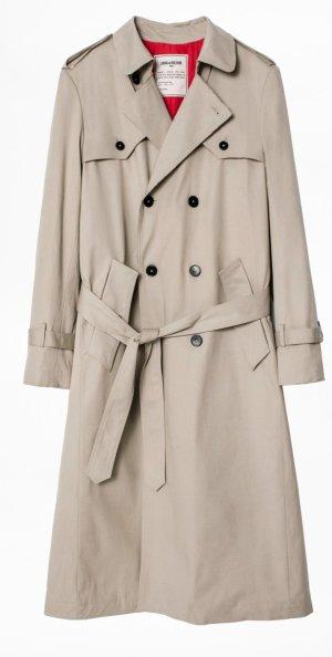 Zadig & Voltaire Long Jacket grey brown-beige