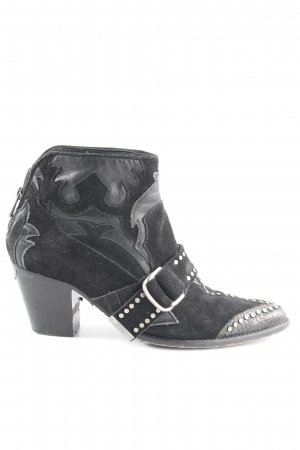 Zadig & Voltaire Western-Stiefeletten schwarz Casual-Look