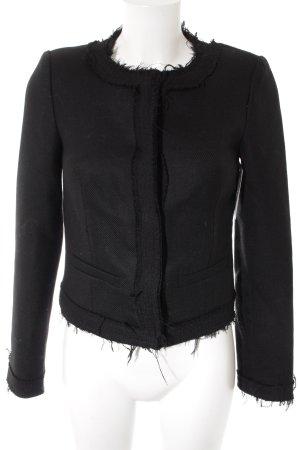 Zadig & Voltaire Wolljacke schwarz klassischer Stil