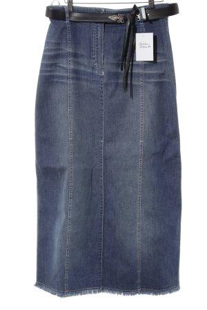 zaffiri Jeansrock blau Casual-Look