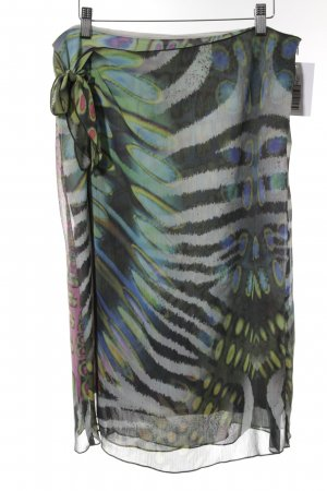 zaffiri Minirock abstraktes Muster Casual-Look