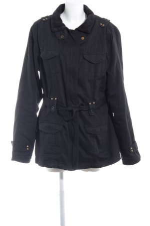 Zagora Winterjacke schwarz Street-Fashion-Look