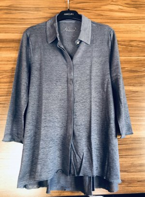 Long Shirt cornflower blue-steel blue