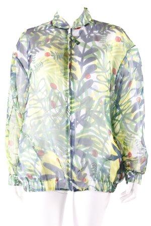 Zalando Blouson mit Blätter-Muster