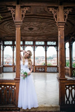Zalando Wedding Dress multicolored