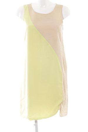 Zalando Collection A-Linien Kleid blassgelb-sandbraun Boho-Look