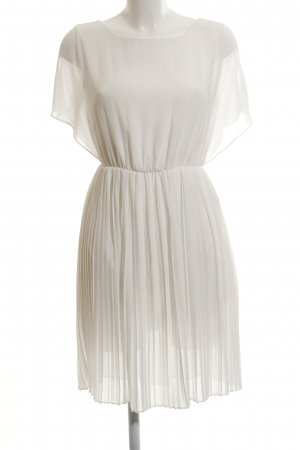 Zalando Collection Blusenkleid wollweiß Elegant