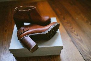 Zalando Booties beige-grey brown leather