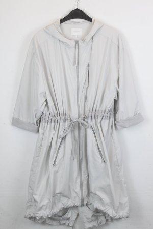 Zalando Collection Jack met capuchon lichtgrijs Polyester