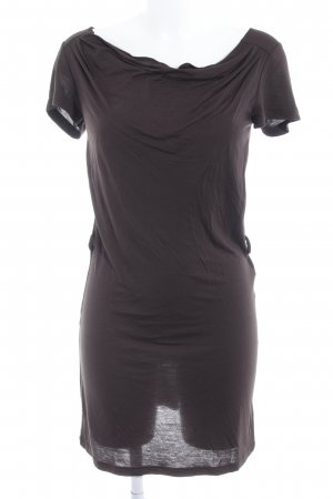 Zalando Collection Jerseykleid schwarzbraun Casual-Look