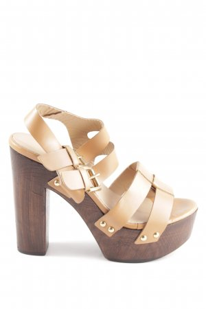 new arrivals a0b18 bc6b2 Zalando Collection Platform Pumps nude-bronze-colored casual look