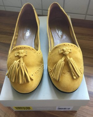 "Zalando ""collection"" Slipper / Ballerinas in gelb - Gr. 38"