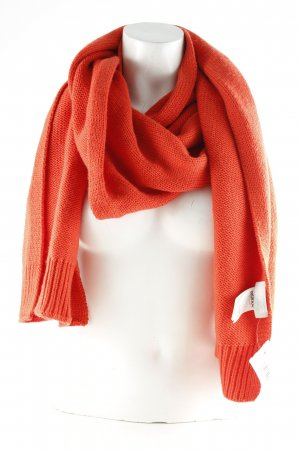 Zalando Collection Knitted Scarf bright red casual look