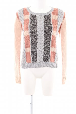 Zalando Collection Cable Sweater flecked casual look