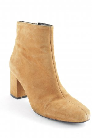 Zalando Iconics Zipper Booties camel casual look