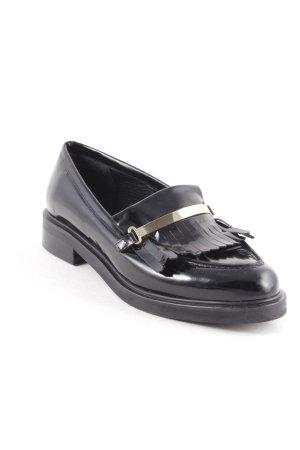 Zalando Iconics Slippers black-gold-colored classic style