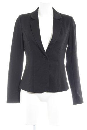 Zalando Jerseyblazer schwarz Casual-Look