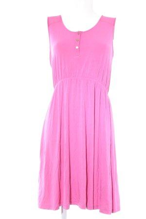 Zalando Kurzarmkleid pink-goldfarben Elegant